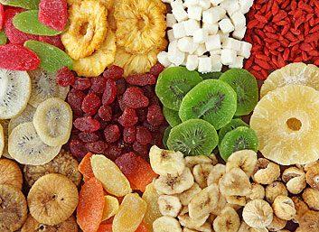4. Les fruits séchés