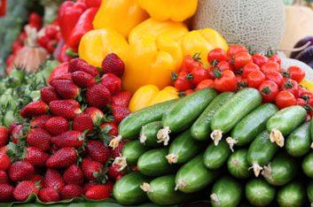 2. Faites provision de fruits et légumes