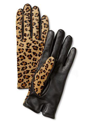 Gants léopard de Banana Republic