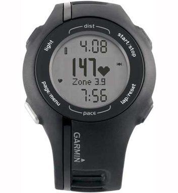 3. Montre Forerunner 210 de Garmin avec cardio-fréquencemètre