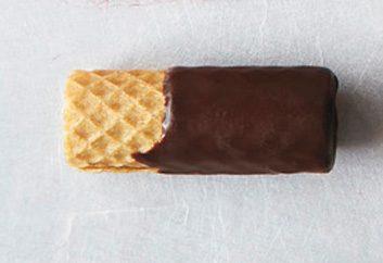Gaufrette au chocolat
