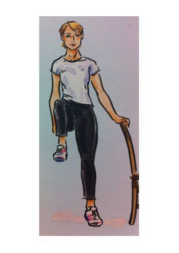 Exercice no. 7: Genoux levés