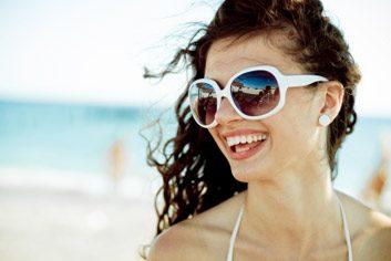 5. Portez des lunettes de soleil