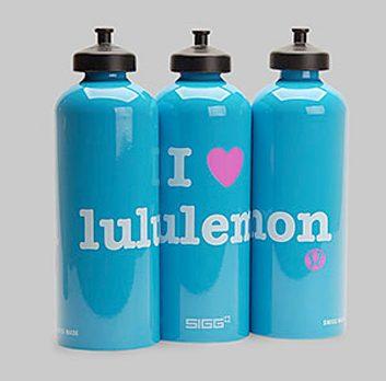 Bouteille d'eau de Lululemon