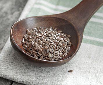 Mangez des graines de lin