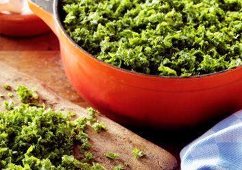 Une autre raison d'aimer les légumes-feuilles vert foncé