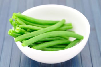 4. Les haricots verts