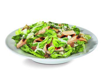Salade avec Bacon et vinaigrette ranch de Subway