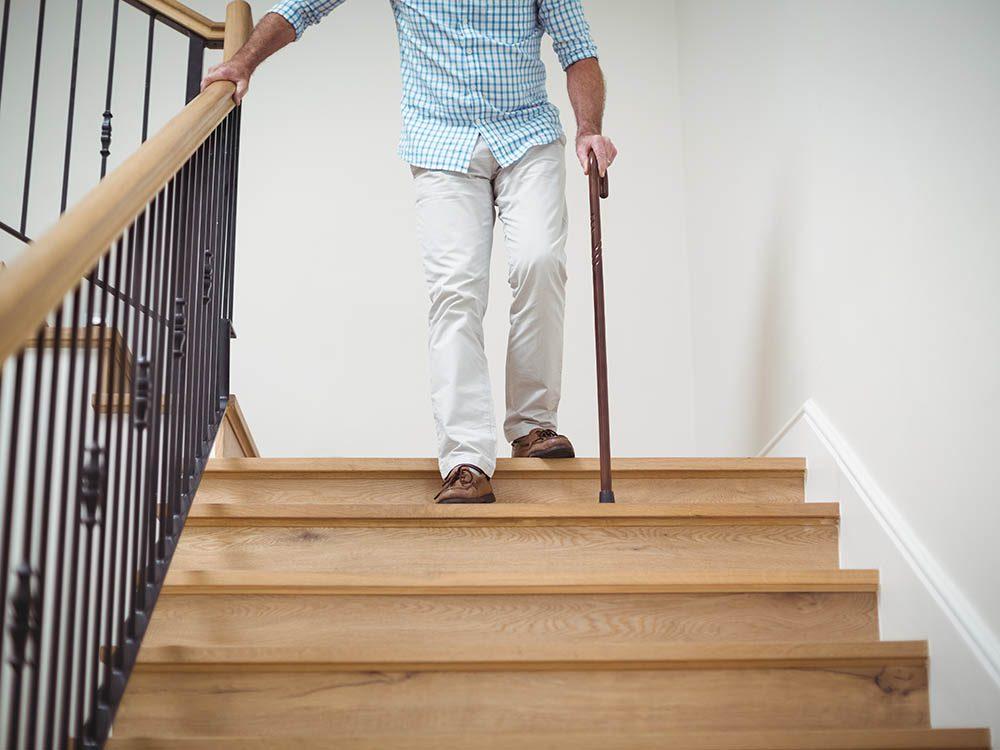 Protégez vos hanches en limitant le risque de chutes.