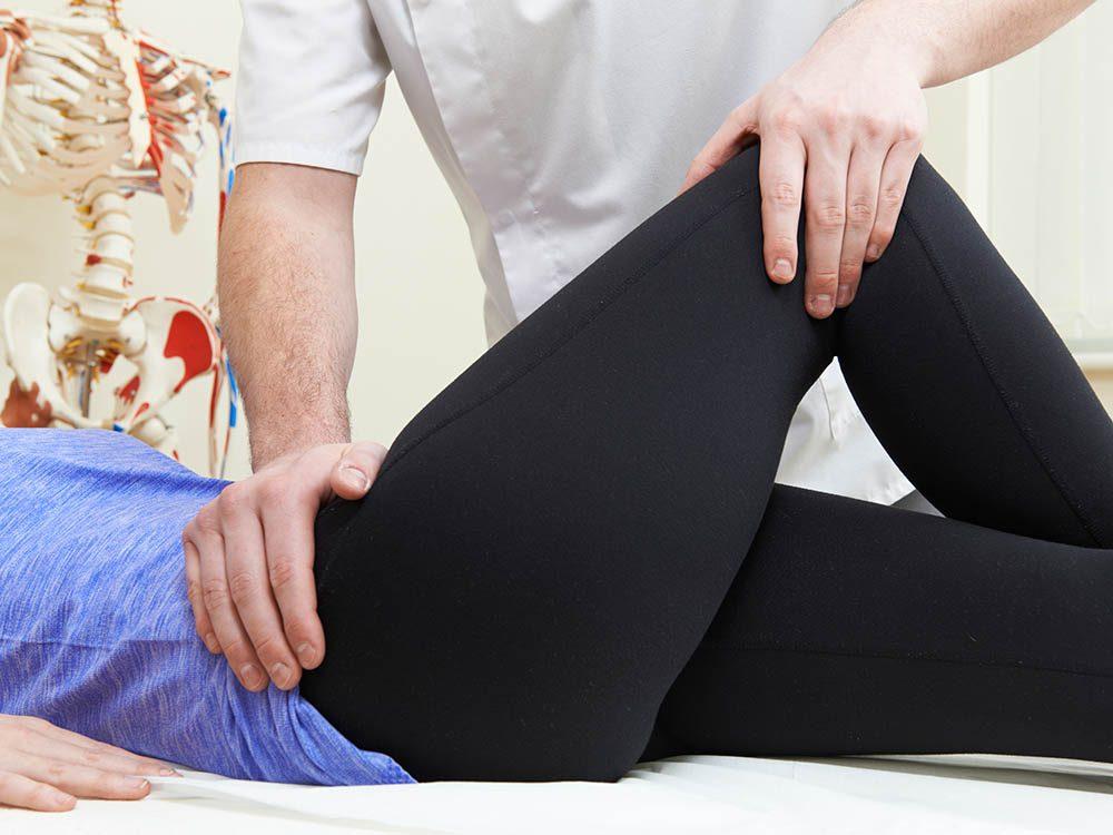 Protégez vos hanches en restant actif.