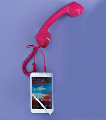 Combiné J+ pour téléphones intelligents