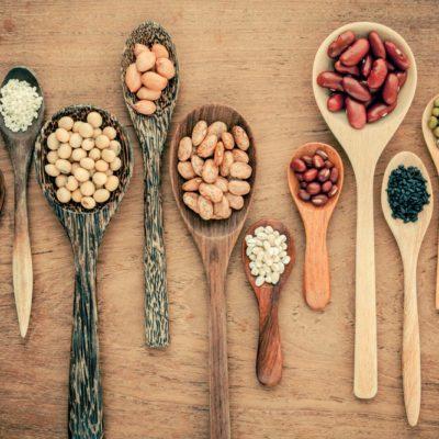 Les haricots constituent une excellente source de fibres.