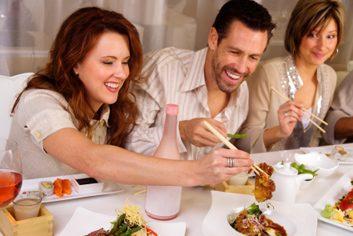 5. Vous êtes invitée à un restaurant haut de gamme