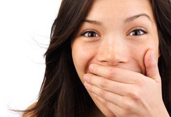 1. Si vos gencives sont douloureuses, enflammées ou d'une couleur bizarre...