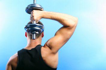 Flexion-extension des triceps