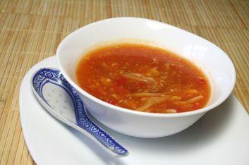 La soupe aigre-piquante