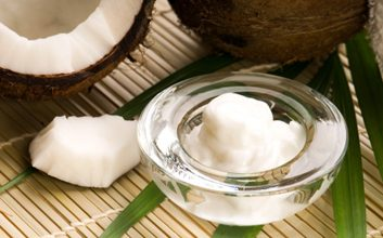 4. Huile de coco