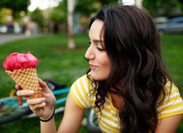 Qu'y a't-il dans votre crème glacée?