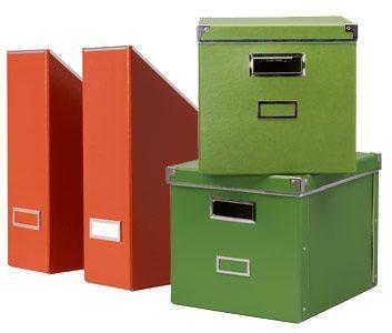 3. Boîtes de rangement