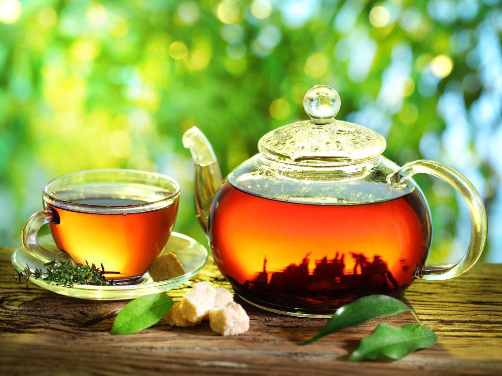Détox : buvez des infusions aux effets dépuratifs.