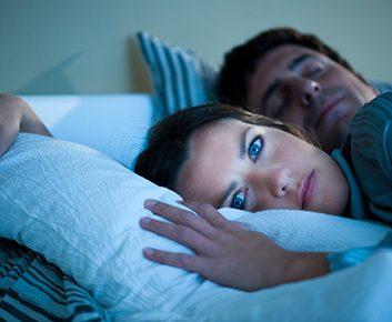 Le stress peut vous empêcher de dormir