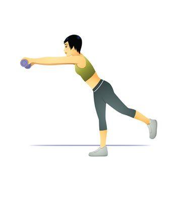 Sixième intervalle: saut, équilibre et planche