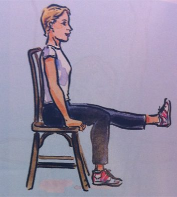 Exercice no. 2: Jambes levées