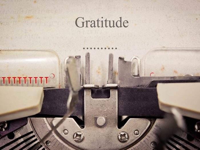 Le journal intime de la gratitude