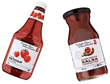 Le ketchup aux tomates