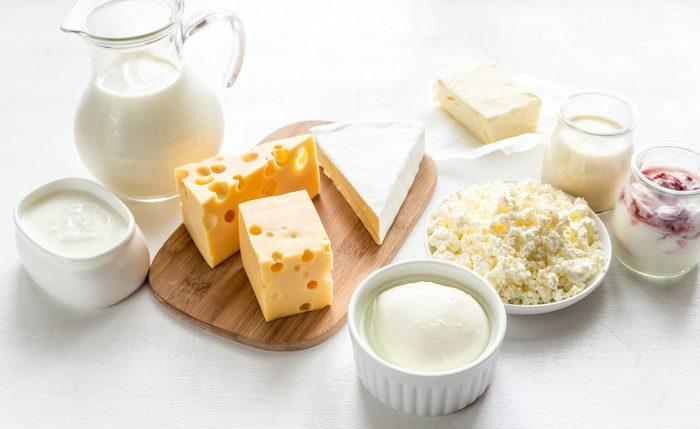7. Les produits laitiers vous rendent malade de temps en temps