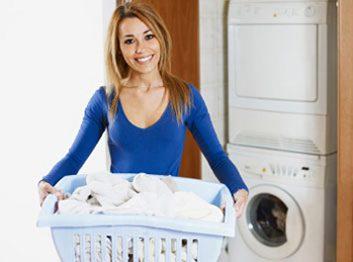 Utilisez de l'eau chaude pour la lessive