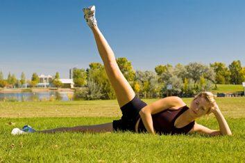 2. Lever de jambe