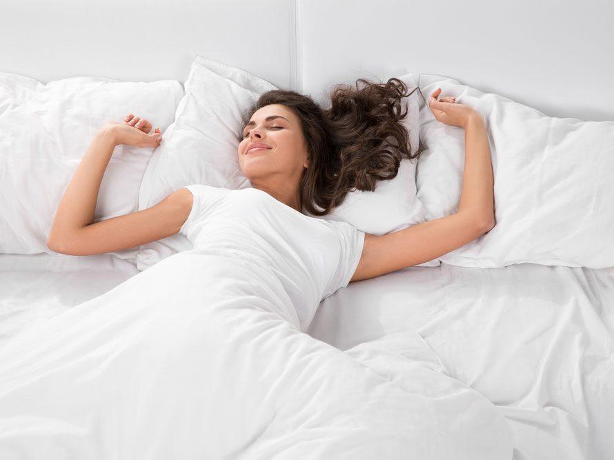 Un lit confortable