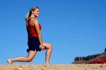 Musculation: La fente