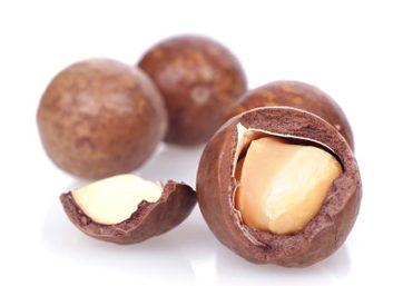 Les noix de macadamia