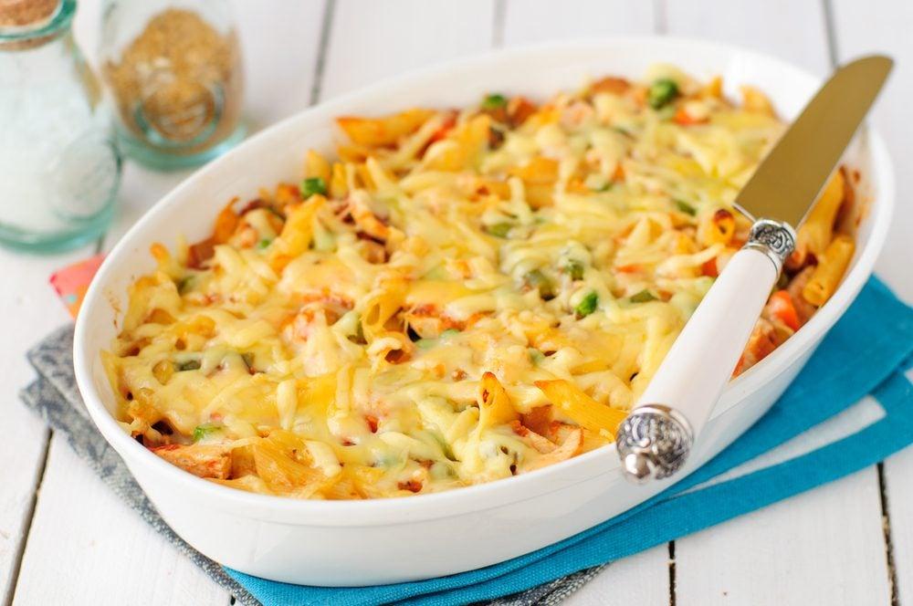 Parmi l'une de nos meilleures recettes à base de yogourt grec: Un macaroni au fromage avec yogourt grec.