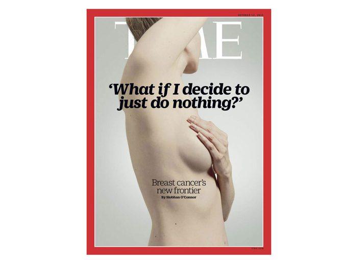 Le cancer du sein: et si vous ne faisiez rien?