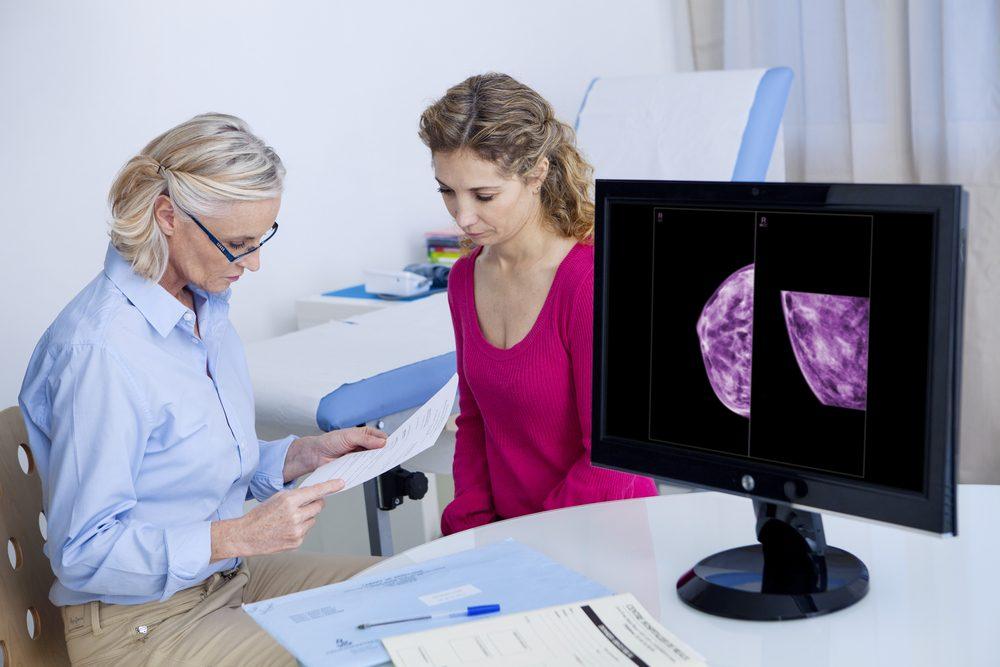 Mammographie.