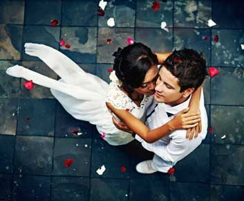 Un mariage heureux soulage de l'arthrite