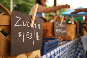 3. Acheter des produits locaux