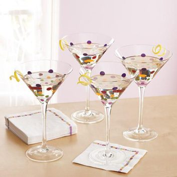 Ensemble à martini de Pampered Chef