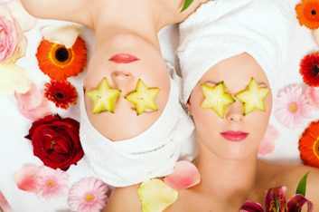 1. Masque facial aux fruits
