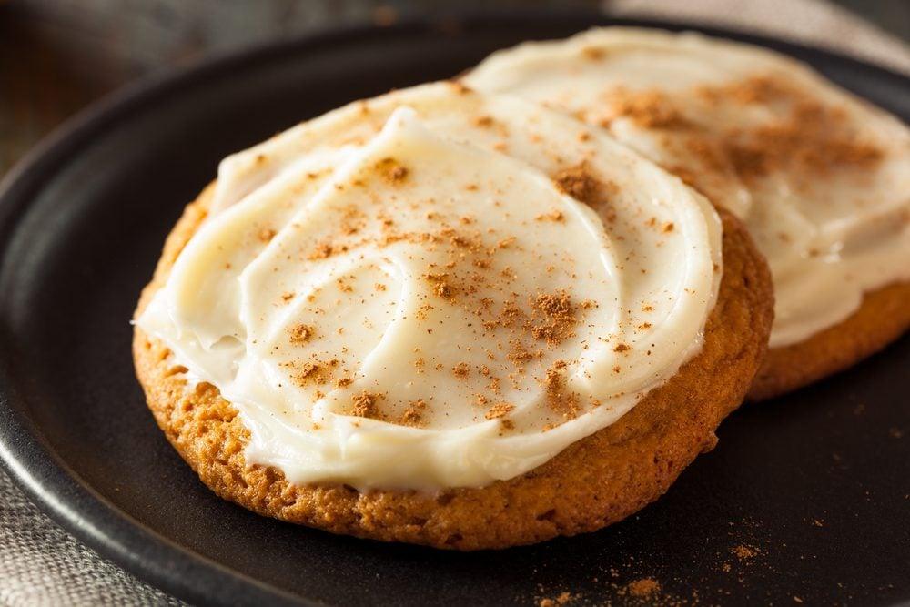 Une recette de biscuits santé à la citrouille