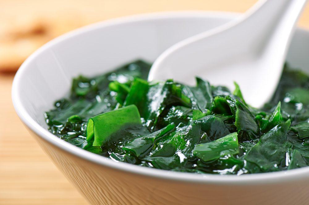 Les algues parmi les meilleurs aliments santé.
