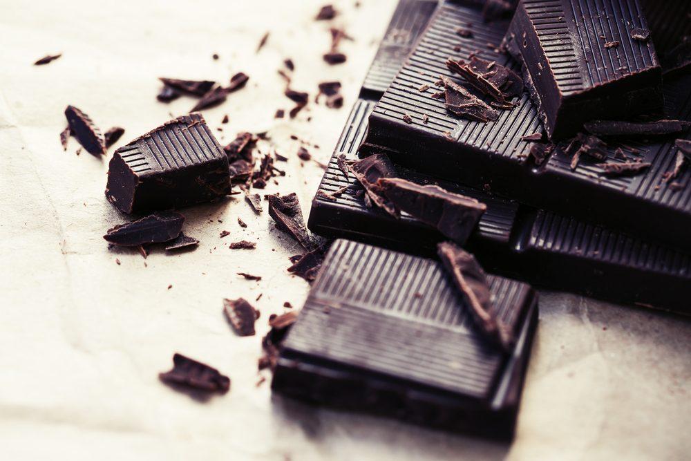 Le chocolat noir, l'un des meilleurs aliments pour la santé.