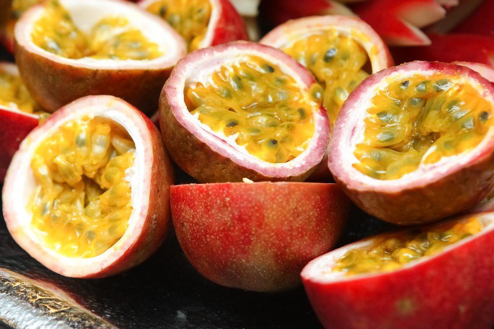 Le fruit de la passion parmi les meilleurs aliments pour votre santé.