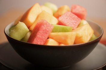 Melon et autres fruits