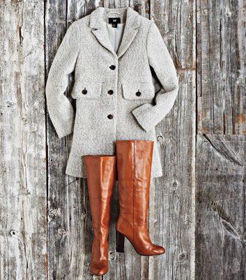 Manteau style années 1960
