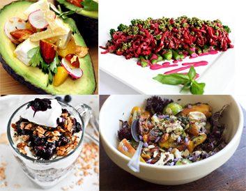 4 repas sains et irrésistibles sur Pinterest