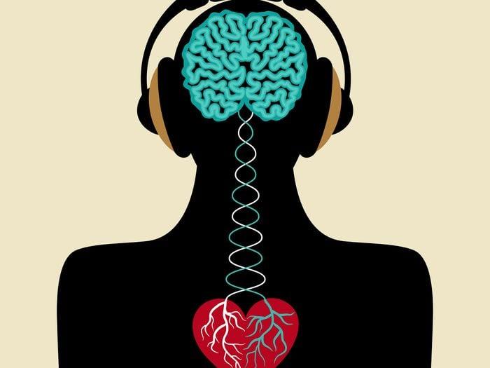 La bonne musique soulage et détend vos vaisseaux sanguins.